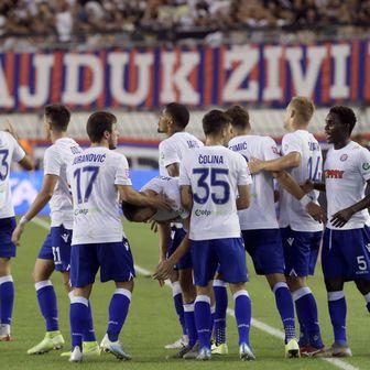 Slavlje Hajduka (Foto: Ivo Cagalj/PIXSELL)