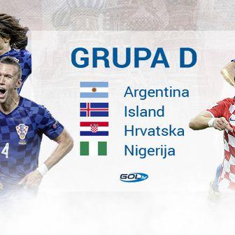 Skupina D Svjetskog prvenstva (GOL.hr)