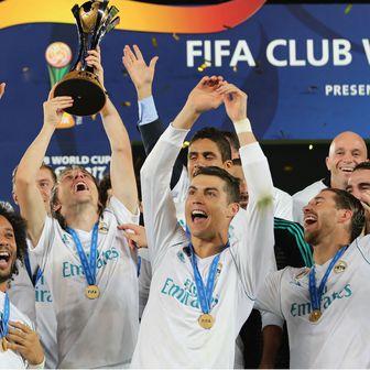 Luka Modrić, Cristiano Ronaldo i ostali igrači Reala slave pobjedu (Foto: AFP)
