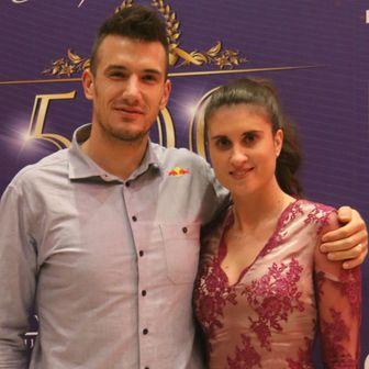 Valent i Antonela Sinković (Foto: Željko Bakšaj/Sport nedjeljom)