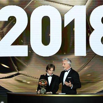 Modrić dobio Zlatnu loptu (Foto: AFP)