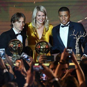 Dobitnici Zlatne lopte (Foto: AFP)