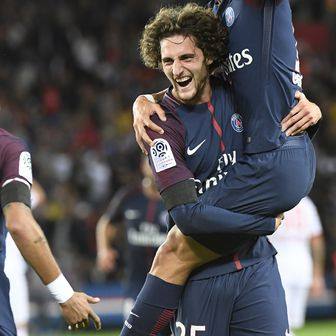 Rabiot slavi gol (Foto: AFP)