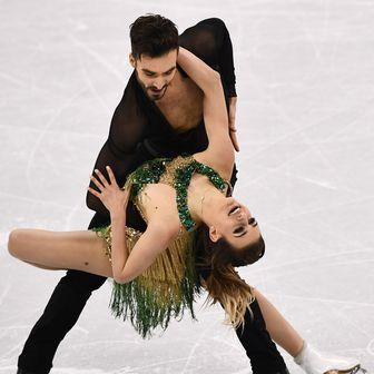 Gabriella Papadakis i Guillaume Cizeron (Foto: AFP)
