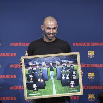 Javier Mascherano nakon osam godina napustio je Barcelonu (Foto: AFP)