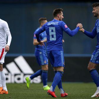 Izet Hajrović i Bruno Petković (Photo: Matija Habljak/PIXSELL)
