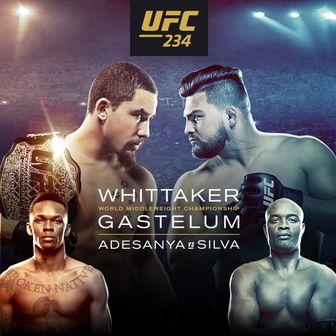 UFC 234: Robert Whittaker vs Kelvin Gastelum