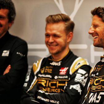 Kevin Magnussen i Romain Grosjean (Foto: XPB/Press Association/PIXSELL)