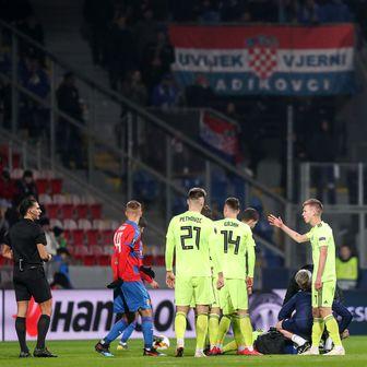 Ozljeda igrača Dinama (Foto: Igor Kralj/PIXSELL)