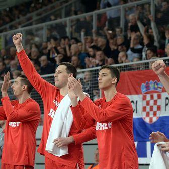 Hrvatska košarkaška reprezentacija (Foto: Vjeran Zganec Rogulja/PIXSELL)