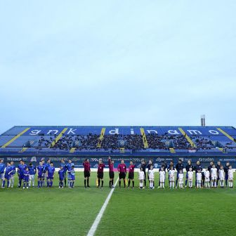 Dinamo - Osijek (Foto: Sanjin Strukic/PIXSELL)