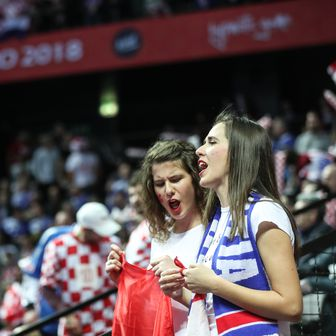 Navijači na utakmici Hrvatska - Srbija (Foto: Slavko Midzor/PIXSELL)