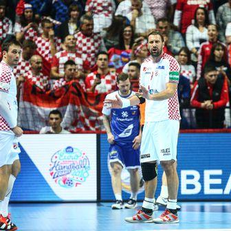 Igor Vori na utakmici protiv Islanda (Foto: Slavko Midzor/PIXSELL)
