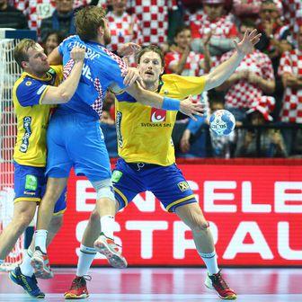 Luka Cindrić protiv Švedske (Foto: Slavko Midzor/PIXSELL)