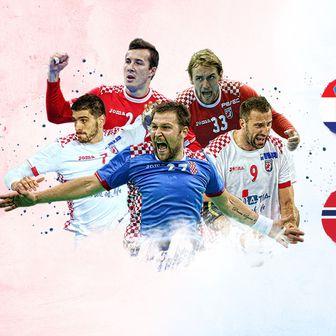 Hrvatska - Norveška (Foto: GOL.hr)
