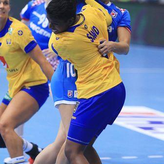 Louise Sand na utakmici protiv hrvatske reprezentacije (Foto: Davor Javorović/PIXSELL)
