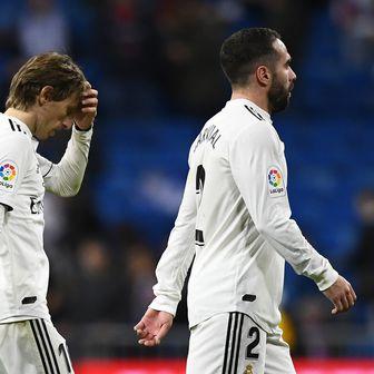 Luka Modrić i Dani Carvajal (Foto: AFP)