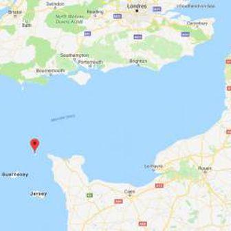 Otok Alderney (Google Maps)