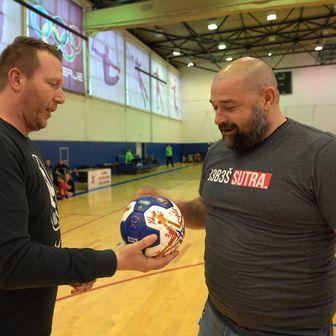 Miroslav Mišković uručio loptu rukometnom klubu Varaždin