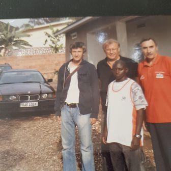 Josip Kuže i Tomislav Obradović u Africi
