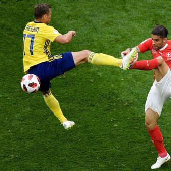 Švedska - Švicarska (Foto: AFP)