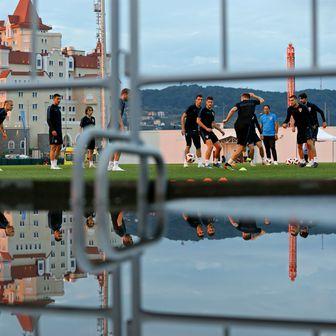 Trening hrvatske nogometne reprezentacije u kampu u Sočiju (Foto: Igor Kralj/PIXSELL)