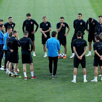 Trening hrvatske nogometne reprezentacije (Foto: Igor Kralj/PIXSELL)