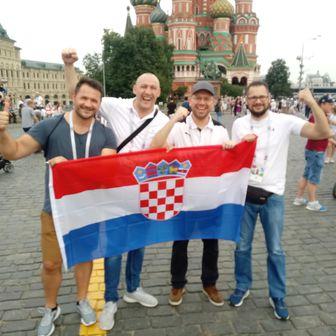 Hrvatski navijači u Msokvi (Foto: GOL.hr)