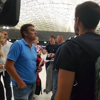 Bivši reprezentativci otputovali u Moskvu