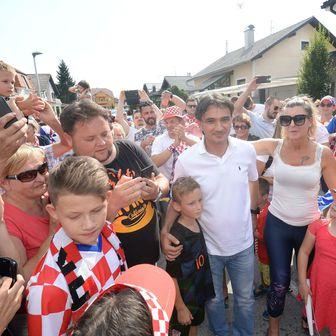 Doček Zlatka Dalića u Varaždinu (Foto: Vjeran Zganec-Rogulja/PIXSELL)