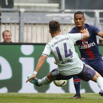 Juan Bernat protiv PSG-a (Foto: Erwin Scheriau/DPA/PIXSELL)