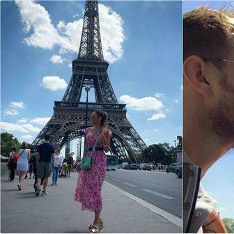 Ivan Rakitić sa suprugom u Parizu (Instagram)