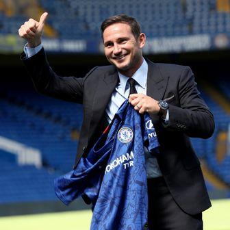 Frank Lampard na predstavljanju (Foto: Yui Mok/Press Association/PIXSELL)