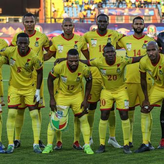 Reprezentacija Benina (Foto: Oliver Weiken/DPA/PIXSELL)