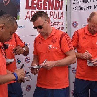 Legende Bayern Münchena (Foto: Dusko Marusic/PIXSELL)