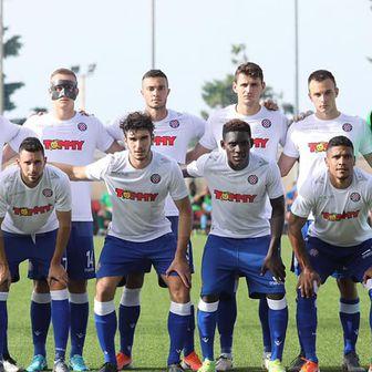 Momčad Hajduka protiv Gzire United (Foto: Robert Matić / hajduk.hr)