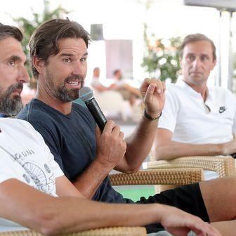 Goran Ivanišević i Patrick Rafter (Foto: Goran Stanzl/PIXSELL)