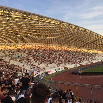 Poljud pred početak utakmice (Foto: GOL.hr)