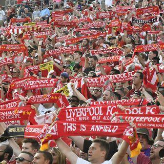 Navijači Liverpoola (Foto: Tim Vizer/DPA/PIXSELL)