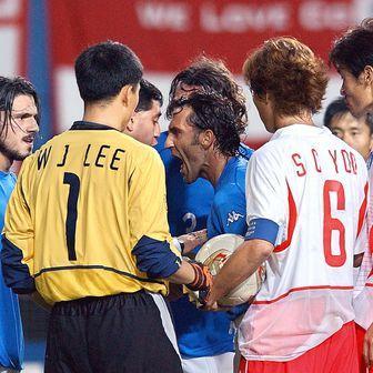 SP 2002.: Južna Koreja - Italija (Foto: AFP)