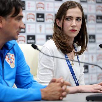 Zlatko Dalić i Nika Bahtijarević (Foto: Igor Kralj/PIXSELL)