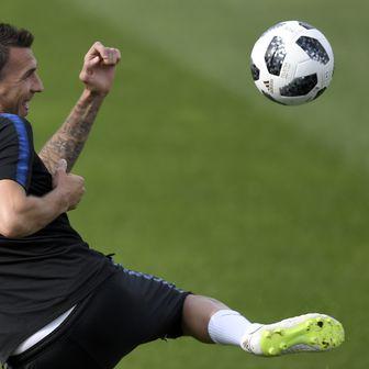 Trening hrvatske nogometne reprezentacije (Foto: AFP)
