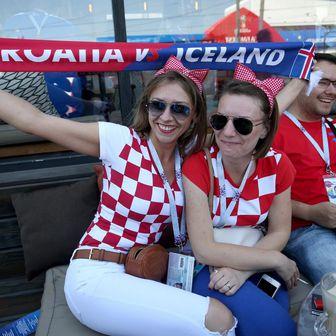 Hrvatske navijačice (Foto: Igor Kralj/PIXSELL)