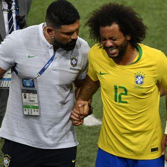 Marcelo izlazi zbog ozljede (Foto: AFP)