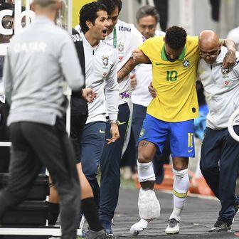 Neymar se ozlijedio (Foto: AFP)
