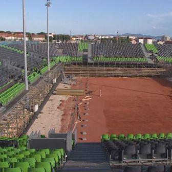 Izgradnja teniskog terena u Zadru - 1