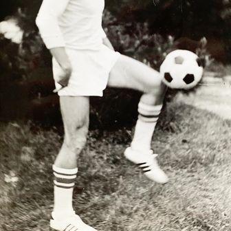 Momir Jelovac u mladnim danima