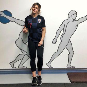 Sandra Perković u dresu reprezentacije (Instagram)