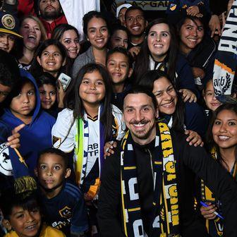 Zlatan Ibrahimović stigao u LA (Foto: AFP)
