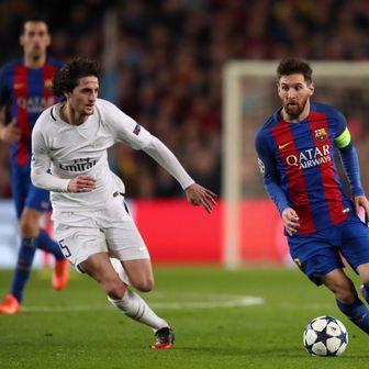 Adrien Rabiot i Lionel Messi (Foto: Nick Potts/Press Association/PIXSELL)